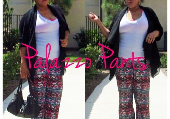 Summer Staple: Palazzo Pants
